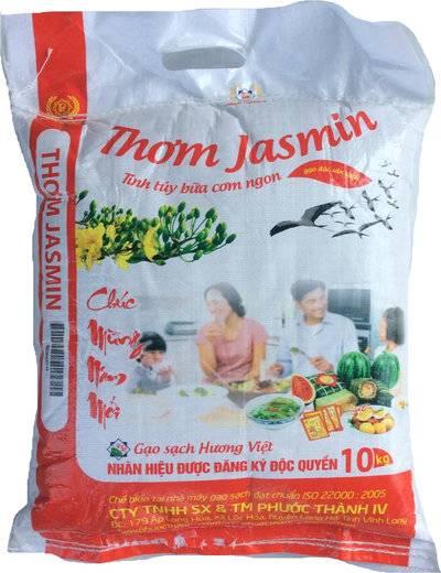 Gạo Thơm Jasmin – Phước Thành IV