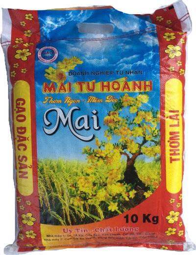 gạo thơm lài mai tư hoảnh - gạo ơi