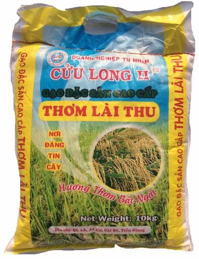 Gạo Thơm Lài Thu – Cửu long II